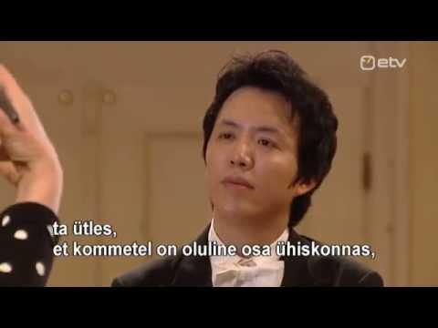 Yundi Li 2014 Tour - Estonia( Estonian Television)