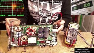 MULTIPLE Failures on Infinity KappaONE amplifier repair