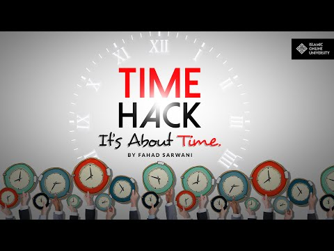 Time Hack - It's About Time by Fahad Sarwani