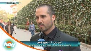¡José Ron truena con su novia en viaje por Europa! | Hoy