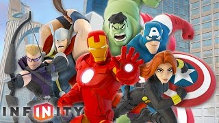 THE AVENGERS IRON MAN - Cartoon Videos Games for Kids - Disney Infinity 2.0 Marvel Super Heroes