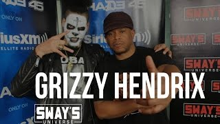 Friday Fire Cypher: Grizzy Hendrix Calls-out Logic, Explains Wild Face Paint + Freestyles Live