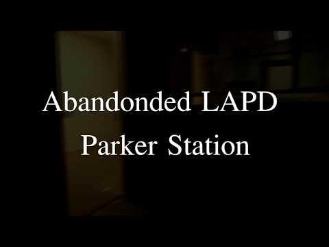 The Abandoned LAPD Parker Center(demolished)
