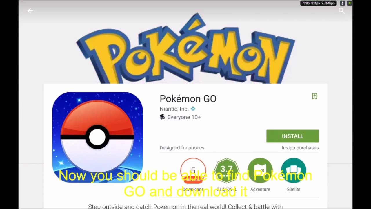 Pokemon go android скачать play