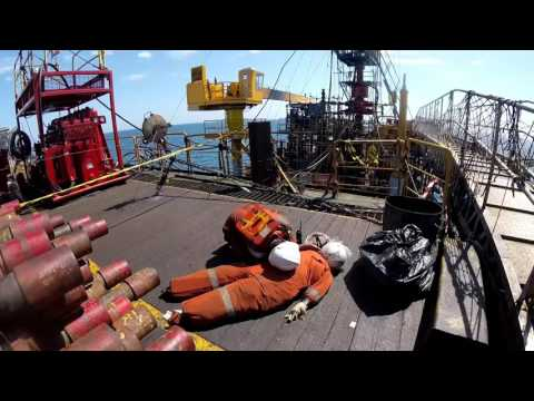 Medivac Evacuation on an Offshore Base #DrillingVlog