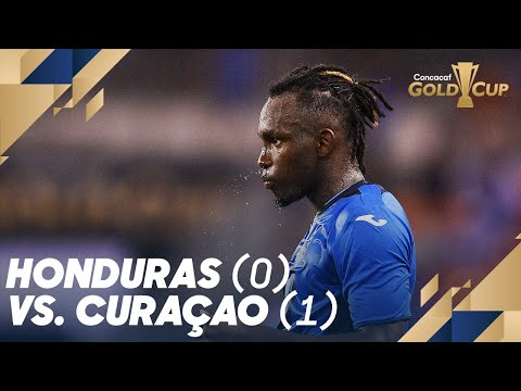 Honduras (0) vs. Curaçao (1) – Gold Cup 2019