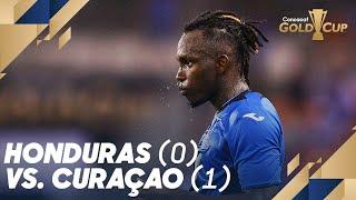 Honduras (0) vs. Curaçao (1) - Gold Cup 2019