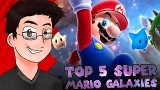 Top 5 Super Mario Galaxies - NintendoNewsByMii