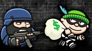ВОРИШКА БОБ 4 Приключения В ПАРИЖЕ  Мультяшная игра для детей про воришку Bob The Robber 4