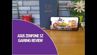 ASUS Zenfone 5Z Gaming Review with Heating Test and Battery Drain