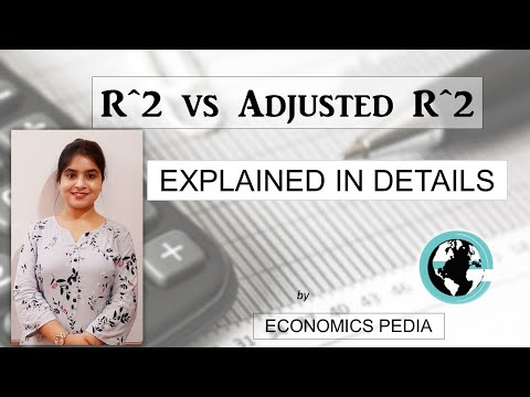 39. R^2 and Adjusted R^2 | STATISTICS | Important Concept | Explained in details | Eco (H)