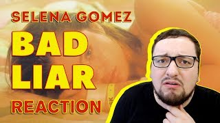 Selena Gomez - Bad Liar (Audio) (Russian's REACTION)