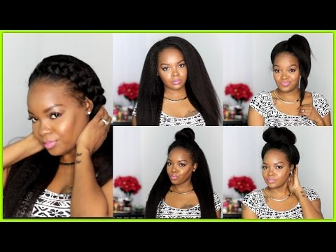 STYLING THE MOST NATURAL WIG EVER| FT PREMIER LACE WIGS