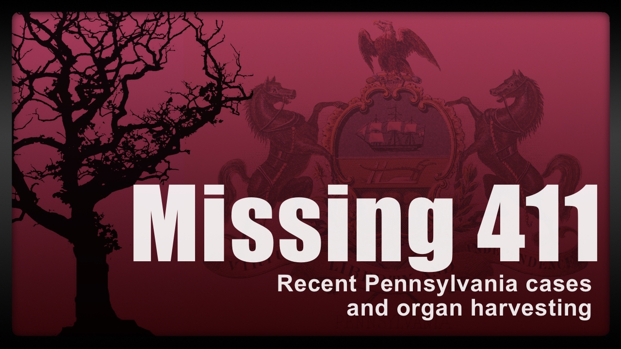 Missing 411 | Pennsylvania | Organ Harvesting | OBDM Podcast - YouTube