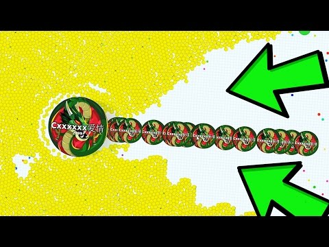 AGAR.IO LONGEST LINESPLIT IN LAST MAN STANDING ! AGARIO INSANE WIN!