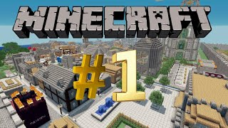 Minecraft #1 (New Village!)