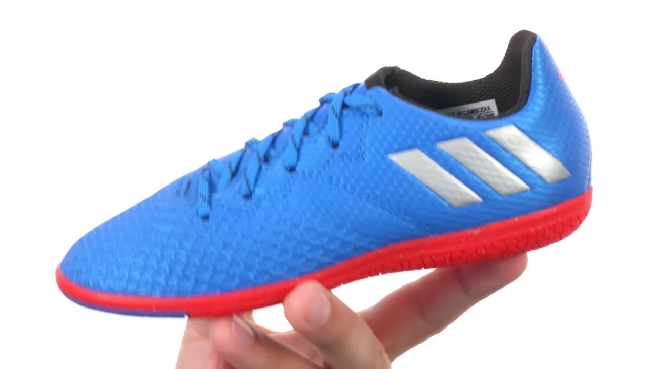 adidas Kids Messi 16.3 IN Soccer (Little Kid Big Kid) SKU 8711752 - YouTube 29d351653f78