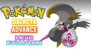 Pokemon GBA ROM HACK galacta advance mega evolution