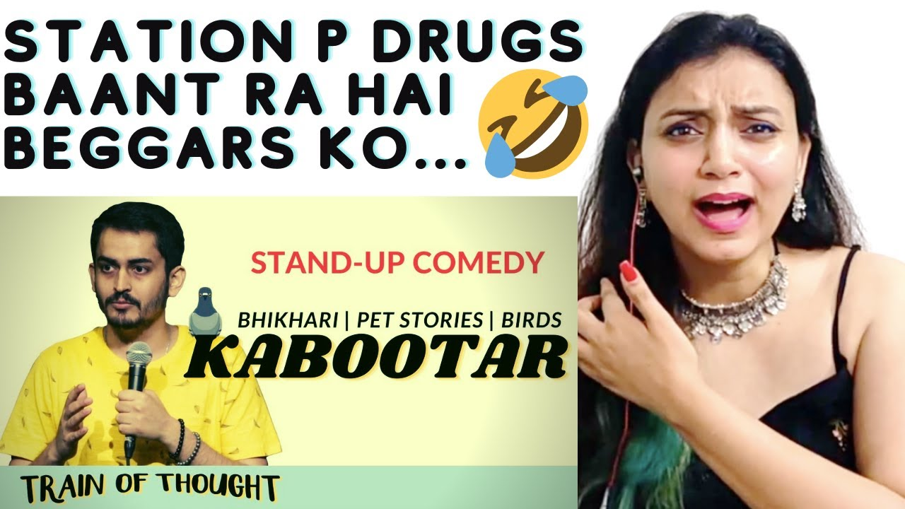 Reaction | Kabootar(and other jokes) | Stand-up Comedy | Shashwat Maheshwari | Praveshika Katoch