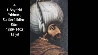 Osmanlı Padişahları Sırası Ile Taht Süreleri(resimli)