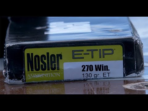 Nosler E-Tip Lead-Free Hunting Ammunition [THE HUNGER]