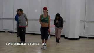 Britney Spears - Circus (Music Video Rehearsal)