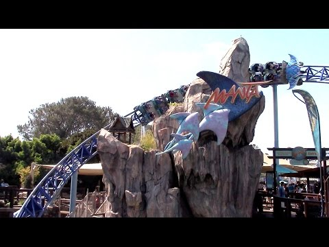 Manta Review SeaWorld San Diego Mack Multi-Launch Coaster