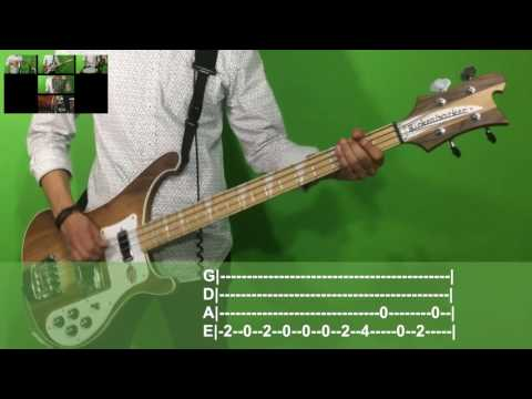 Twenty One Pilots We Don't Believe What's On TV Bass Cover With Tab