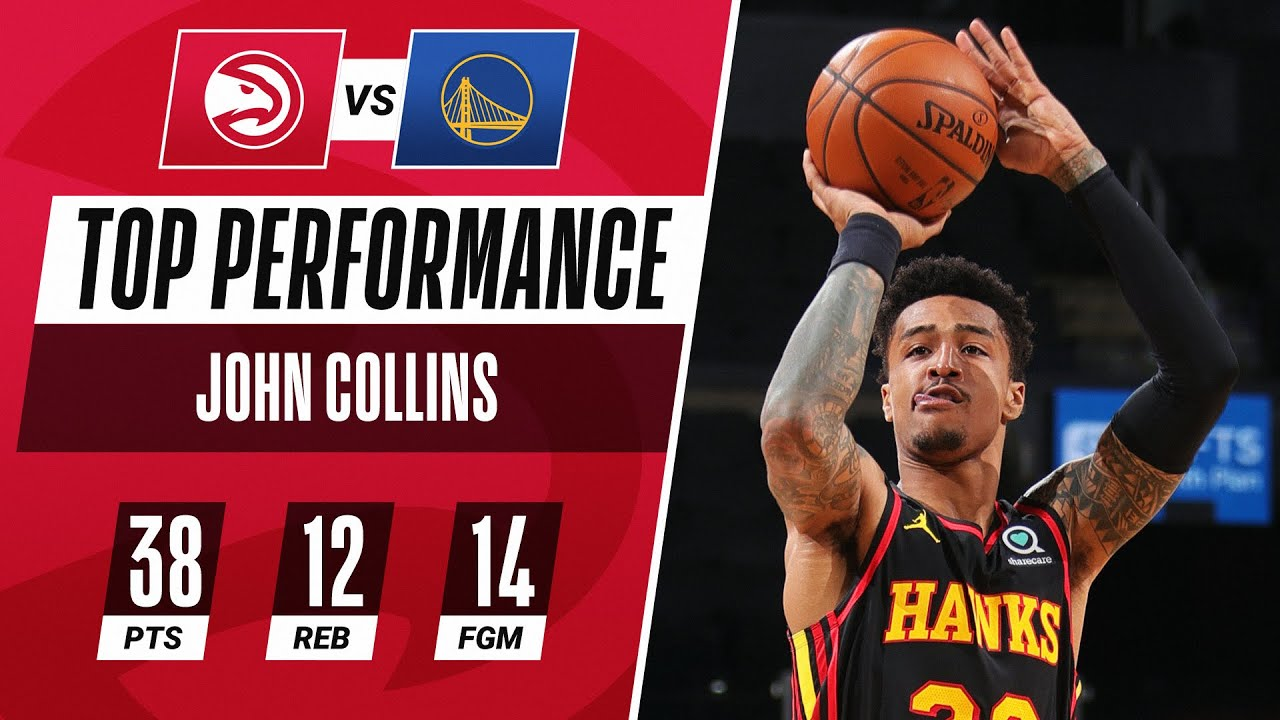John Collins BEST Buckets From CAREER-HIGH 38 PTS 🔥