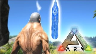 JOURNEY TO THE GIANT CRYSTAL THINGY! Ark Survival #2