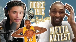 Metta Artest & Rỳan Garcia - Discuss What It Takes To Be A Champion   Fierce Talk Podcast
