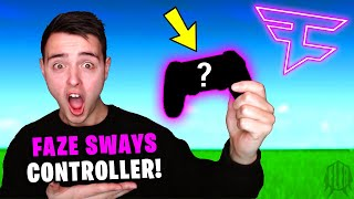 Trying FaZe Sway's *NEW* Controller!