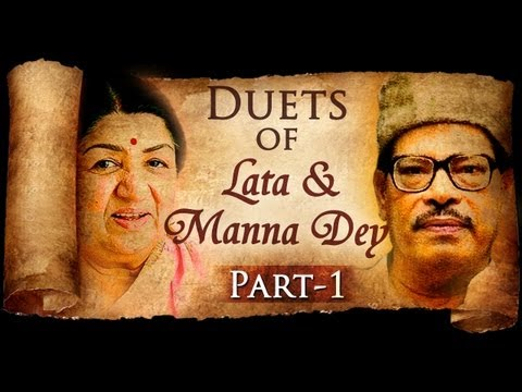 Duets Of Lata Mangeshkar & Manna Dey (HD)  - Vol 1 - Lata Manna Dey Top 10 Songs