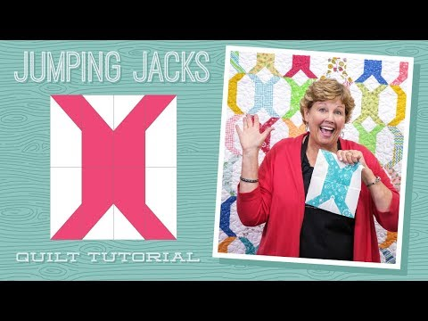 """Make a """"Jumping Jacks"""" Quilt with Jenny!"""