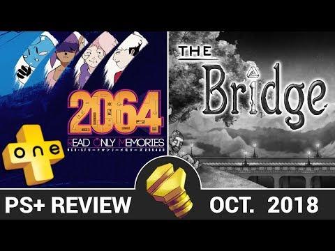 PLUSone - 2064: Read Only Memories | The Bridge - PlayStation Plus Reviews