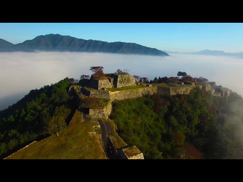 Takeda Castle: Beautiful Ruins Surrounded by Clouds