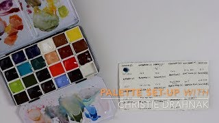 Setting Up A Palette For Urban Sketching