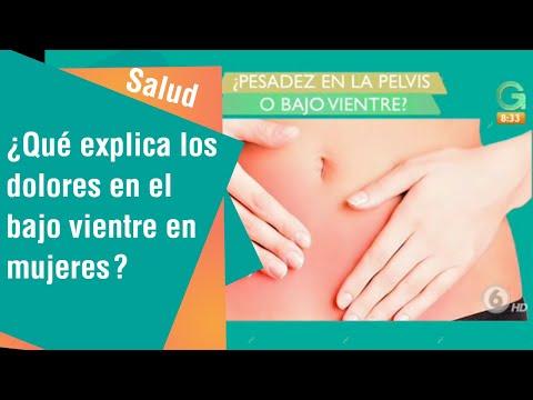 ¿Qué explica los dolores en el bajo vientre en mujeres?