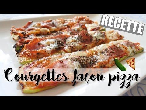 recette-•-courgettes-façon-pizza