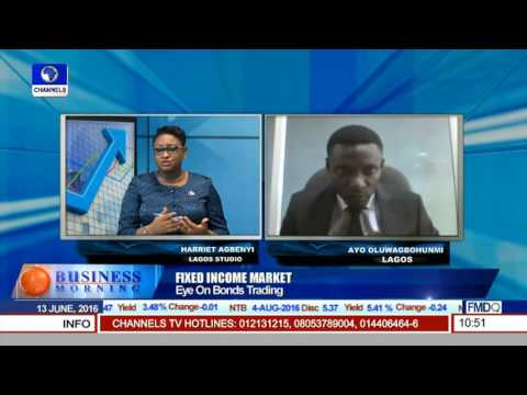 Fixed Income Market: Eye On Bonds Trading On Business Morning