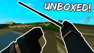 I UNBOXED THE ASP BATON! - Phantom Forces thumbnail