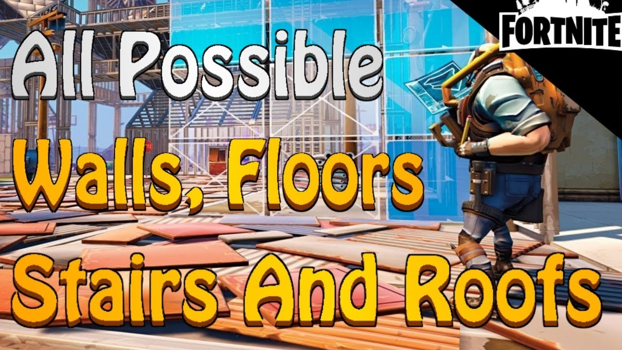 all wall edits in fortnite