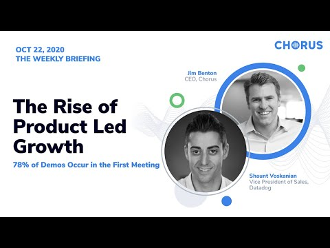 The Weekly Briefing - The Rise of Product Led Growth