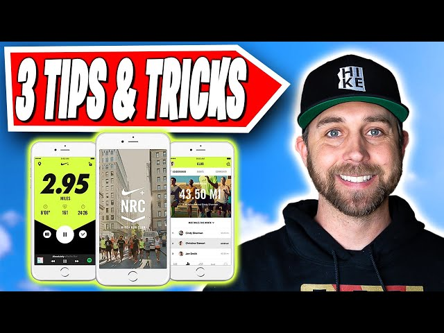 Nike Run Club App Quickstart | 3 Simple