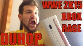 duhop rages on xbox 360 and wwe 2k15 video game