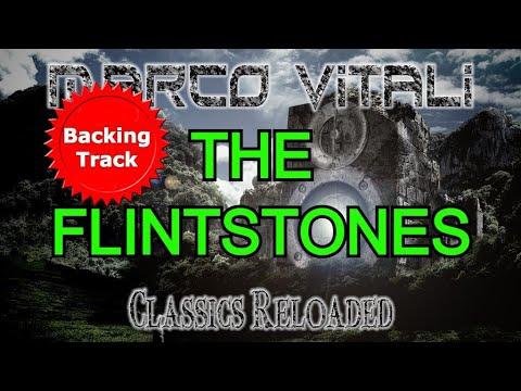 the flintstones - backing track - rock metal version - marco vitali