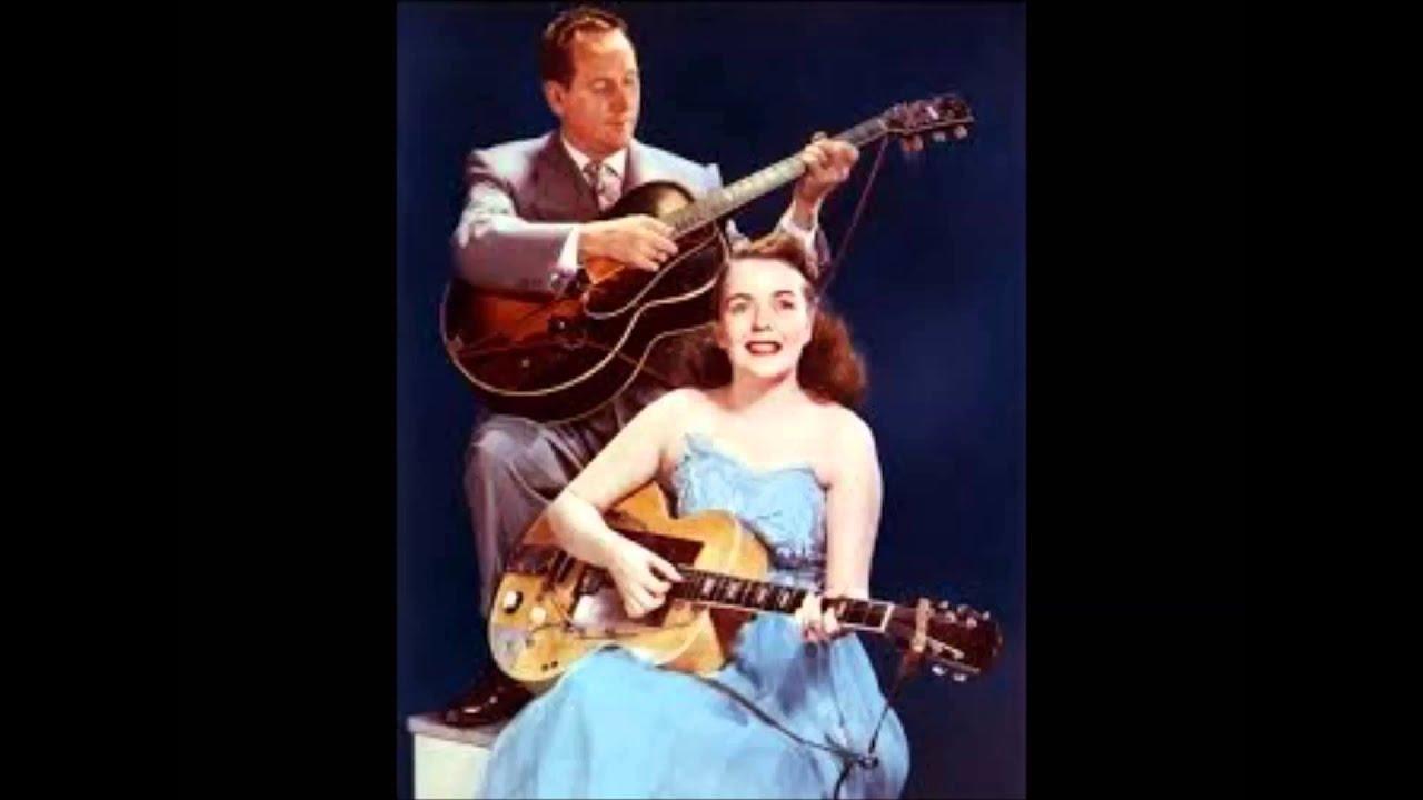 Les Paul Amp Mary Ford Vaya Con Dios C 1953 Youtube
