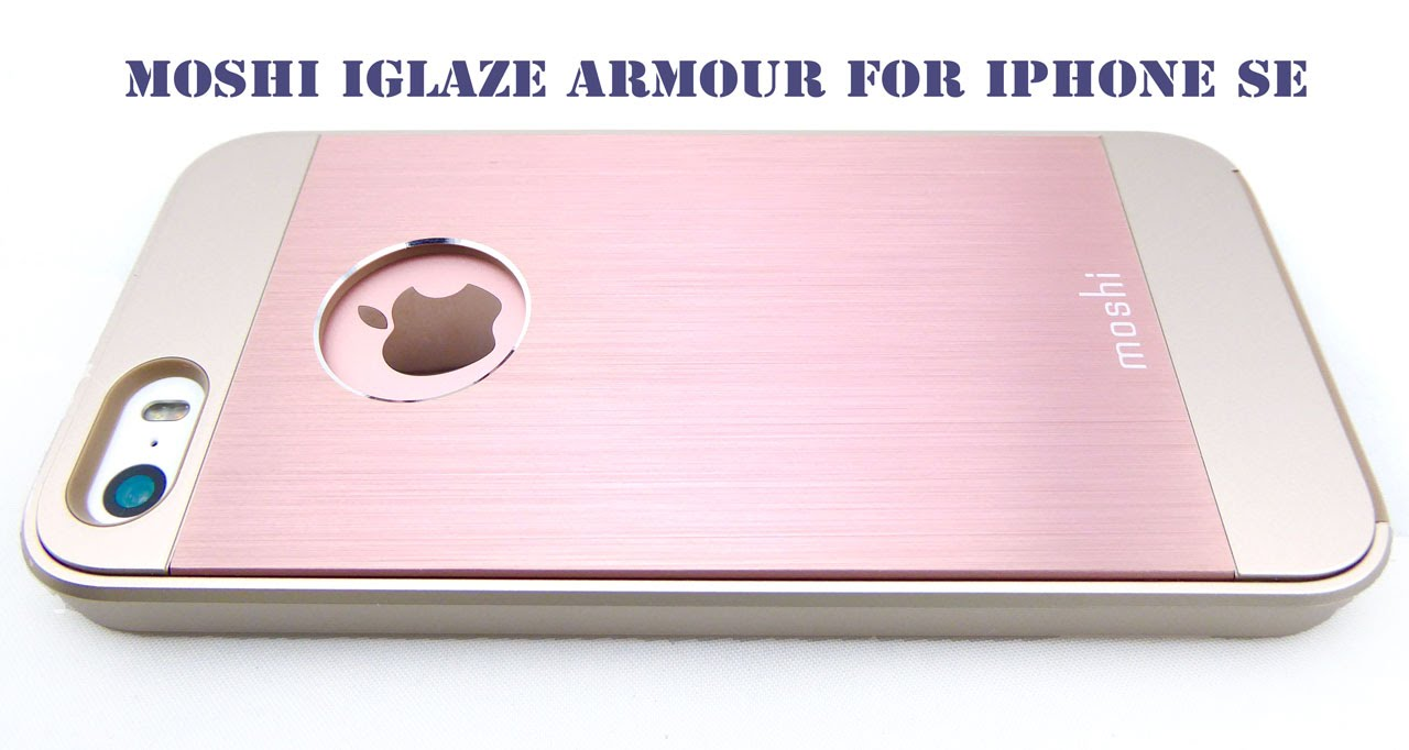 super cute 6875b e57e6 Moshi iGlaze Armour for iPhone SE: Pretty in Pink…with Mil-Spec Drop  Certification!