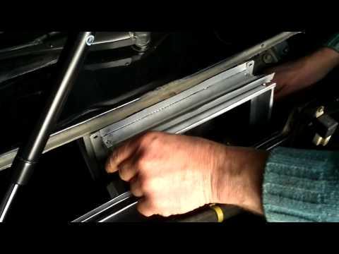 Адаптер салонного фильтра своими руками (примерка)