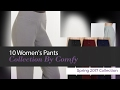 10 Women's Pants Collection By Comfy Spring 2017 Collection